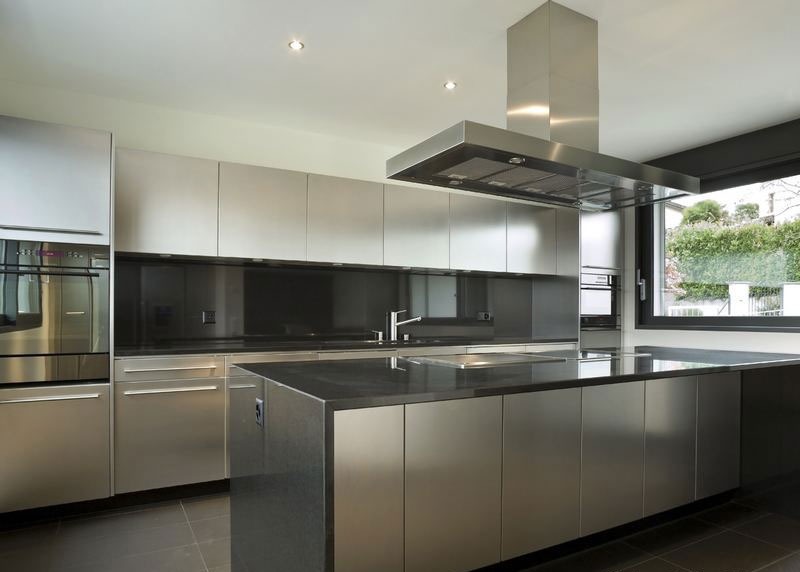 Kitchen Set Stainless Steel Pembuatan Canopy Pagar Rumah Stainless